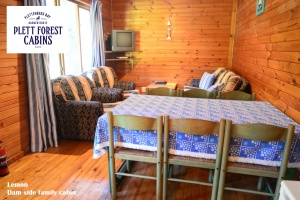 Dam side family cabin Plett Forest Cabins Plettenberg Bay