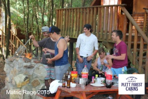 Matric Rage 2015 Plett Forest Cabins